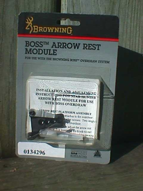 Browning Overdraw Rest Unit For Boss 2