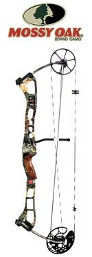 "PSE Mossy Oak X Bow 29"" 70# RH Only - Click Image to Close"