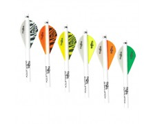 Bohning Blazer Shrink Fletch 6pk. - Solid Colors