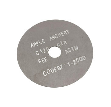 "Apple 3"" Saw Blade ea. - Graphite Coated"