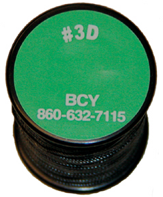 BCY #3D Serving Thread .016 Black 360""
