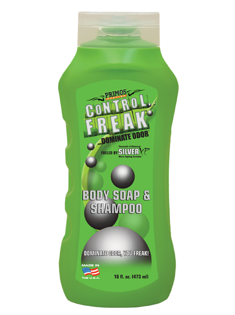 Primos Control Freak Body Soap & Shampoo 16oz.