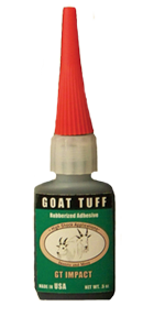 Goat Tuff High Impact Glue for Inserts