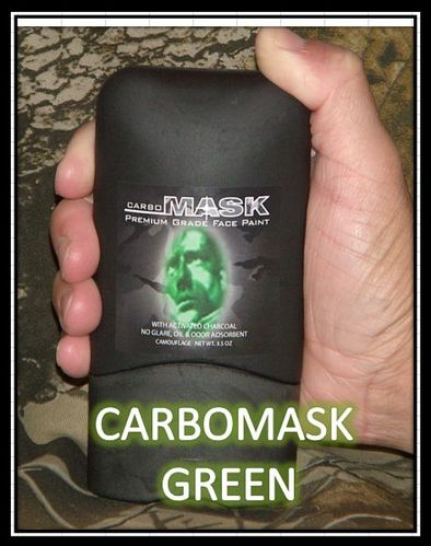 Carbomask Face Paint 3.5oz Green