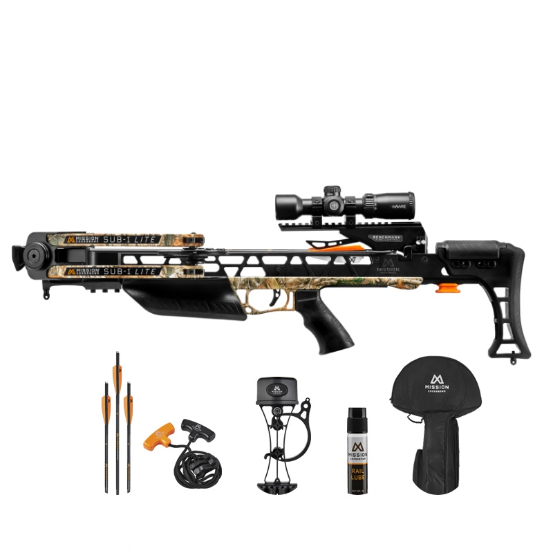 Mission Sub -1 Lite Crossbow w/Pro Kit Realtree Camo