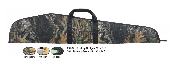 "Allen 46"" Scoped Shotgun Case - Breakup"