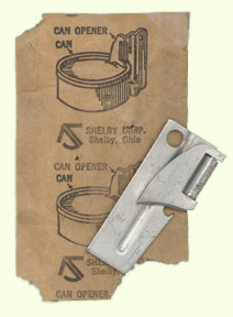 Army Style Steel Can Opener