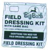 Big Bucks Field Dressing Kit