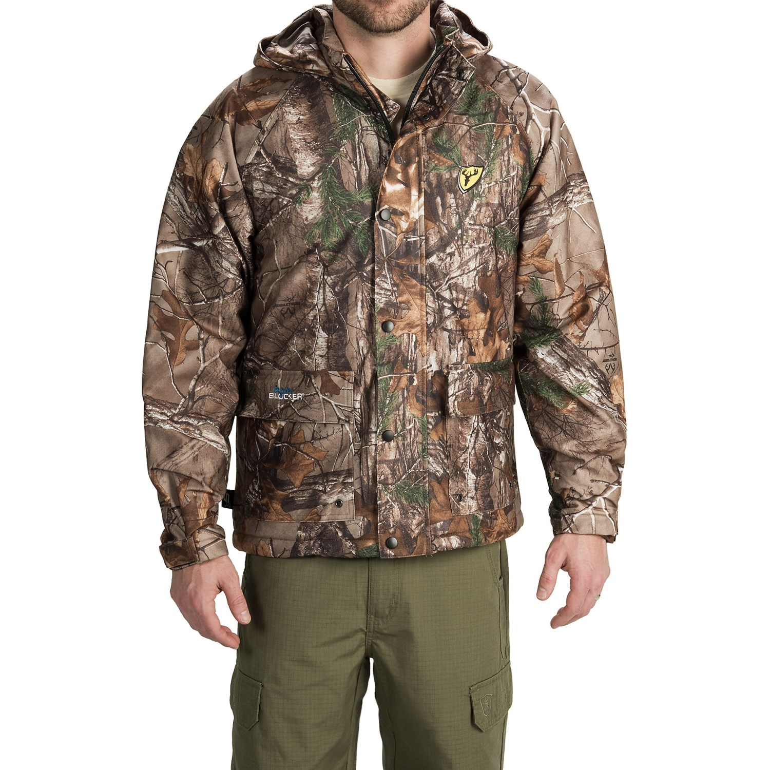 Scent Blocker Insulated Drencher Jacket Xtra Camo