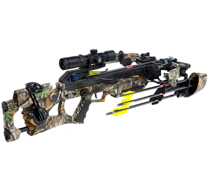 Excalibur Asssassin 360 crossbow w Tact Zone Pkg 360 fps 285#