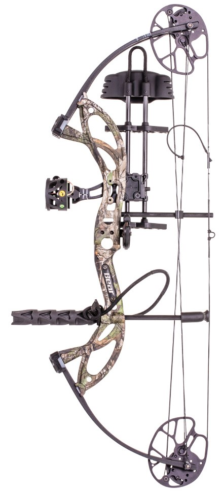"Bear Cruzer G2 Bow Set 5-70# 12-30"" Draw RH !SPECIAL! PINK*"