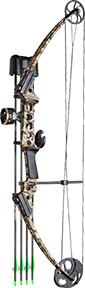 Genesis GenX Bow Package - Camo Choices