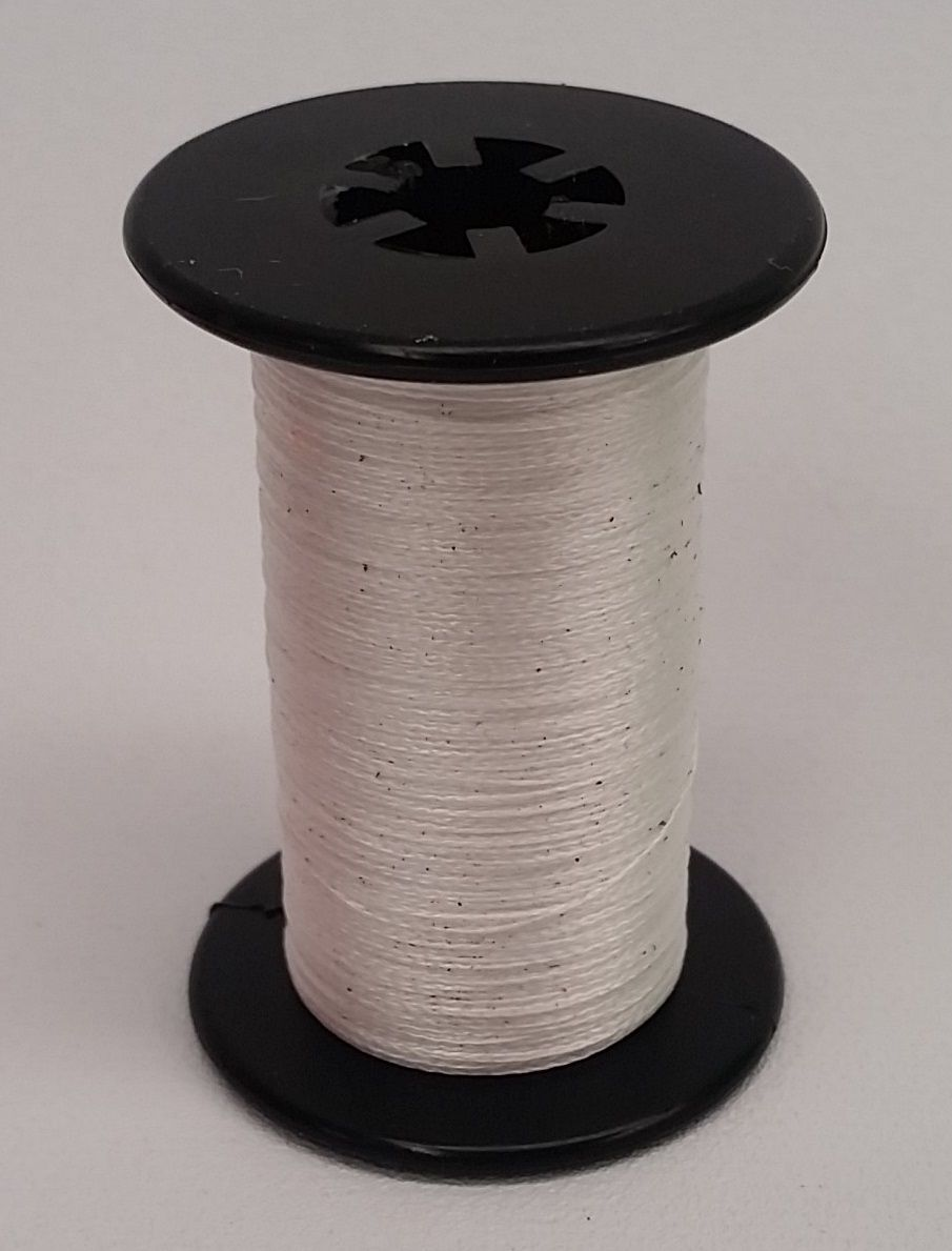 BCY Halo Braided Spectra Serving Thread .014 White