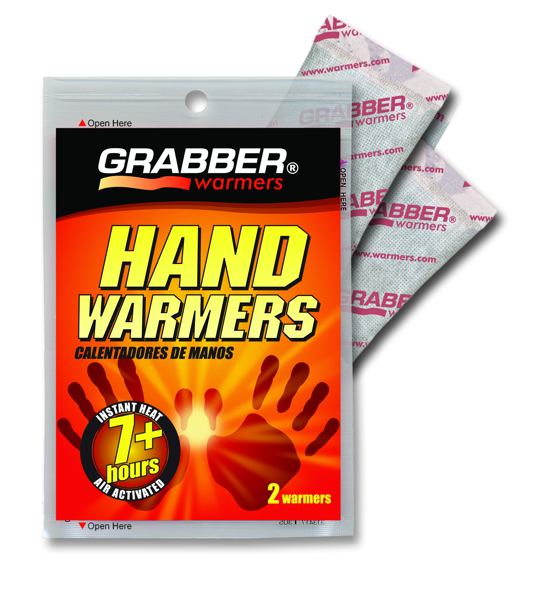 Grabber Hand Warmer 7-Hour Pair Pack