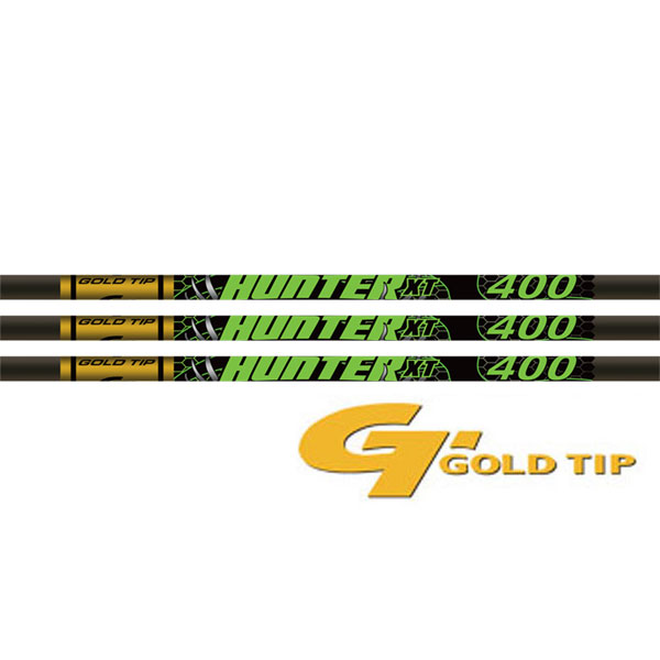 Gold Tip Hunter XT 400 Shafts 1 Dz.