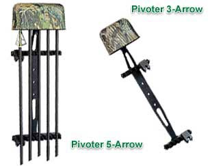 Archer's Choice Pivoter 1-Piece 3-Arrow Quiver - Camo