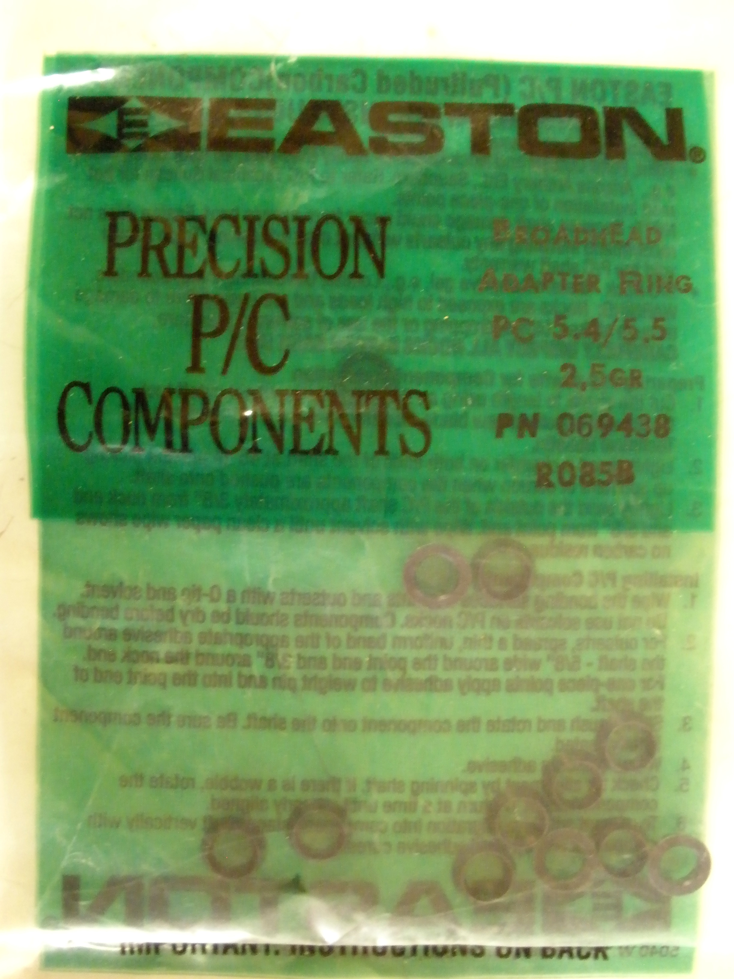 Easton P/C Broadhead Adaptor Rings