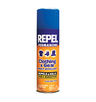 Repel Clothing & Gear Permanone Tick & Bug Killer- NEW Lg 6.5oz