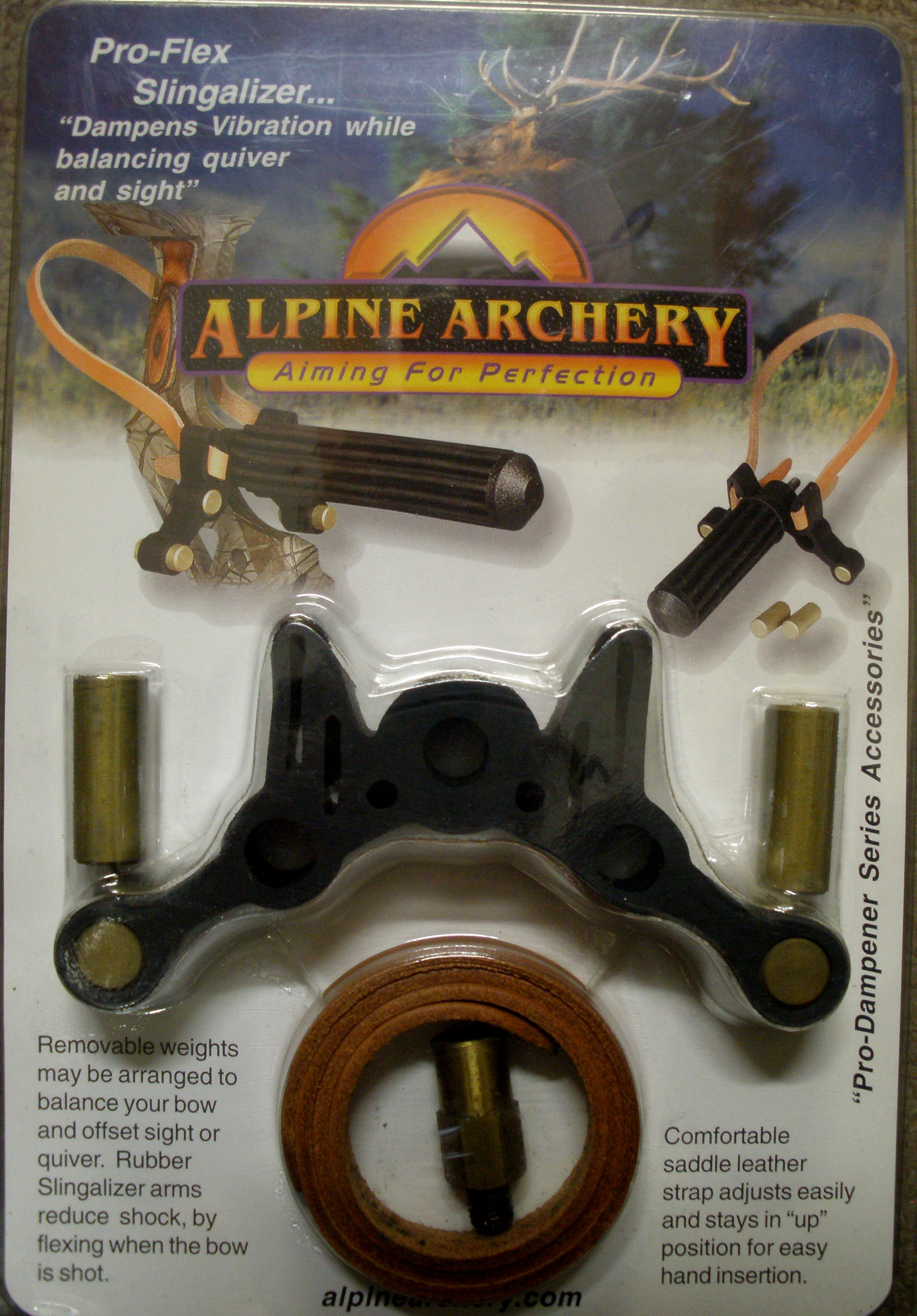 Alpine Pro Flex Slingalizer w/Adjustable Weight System
