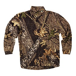 Mossy Oak Mock L/S Turtle Neck - Break Up 2X