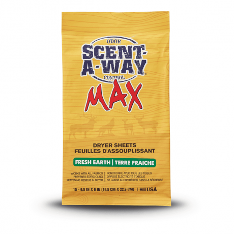 H.S. Scent-A-Way MAX Earth Dryer Sheets