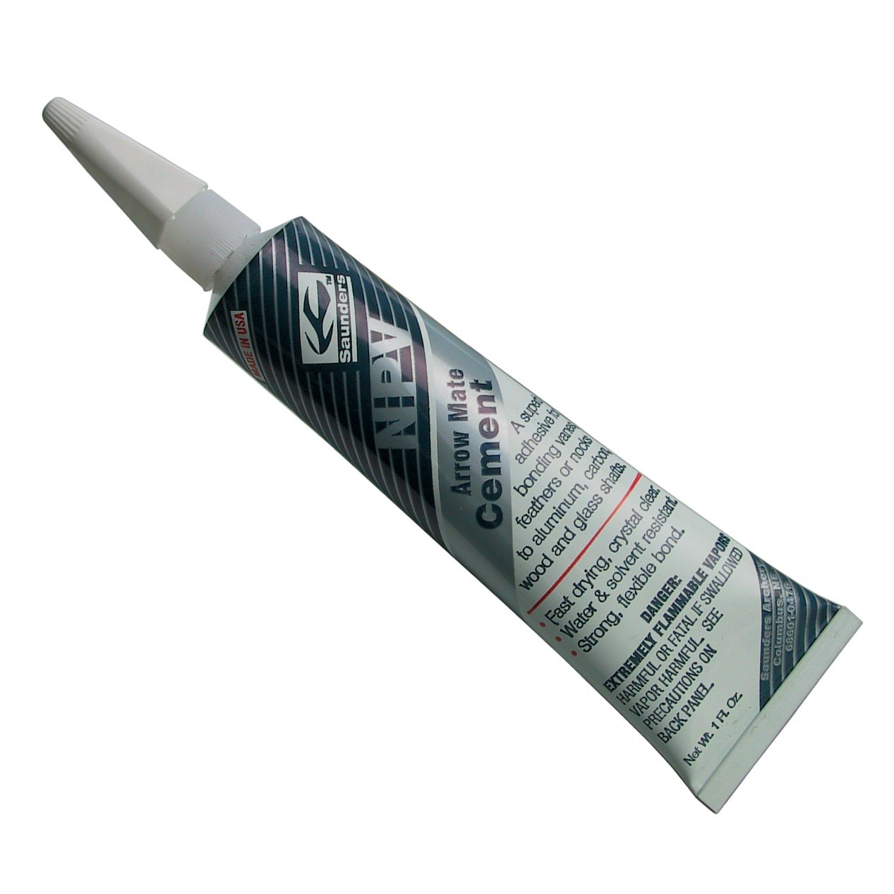 Saunders Arrow Mate NPV Glue 1oz.