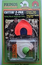 Primos Cuttin' 2-Pak Turkey Mouth Call