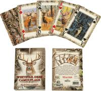 Rivers Edge Playing Cards - Whitetail Deer