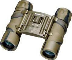 Tasco Essential 10x25mm Camo Binoculars