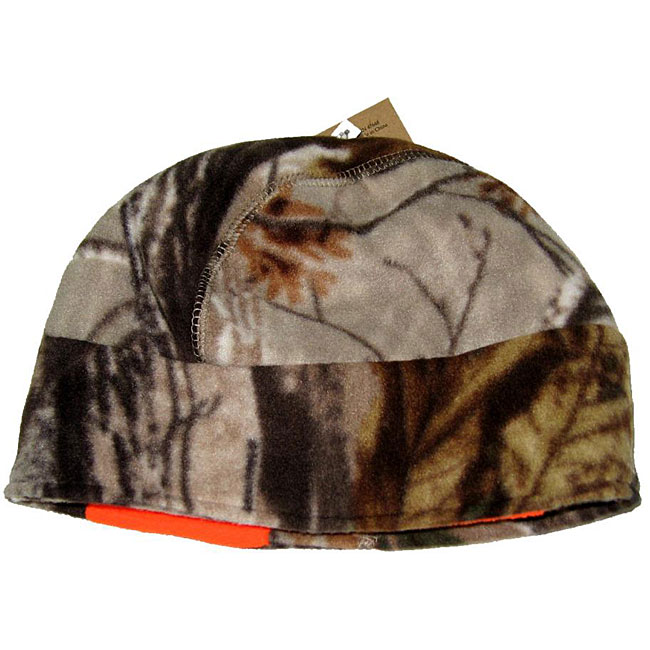 Grabber Fleece Beanie Hat w/Warmer - Realtree Xtra Camo