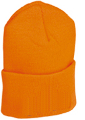 Flame Orange Knit Hat