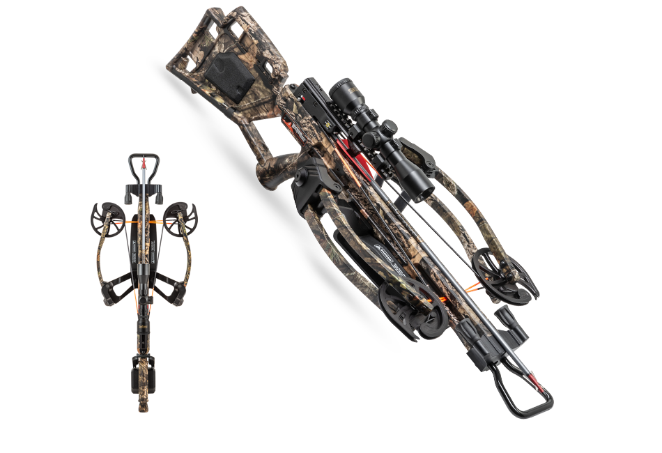 Wicked Ridge RDX400 Crossbow Package 400fps w/Rope Sled