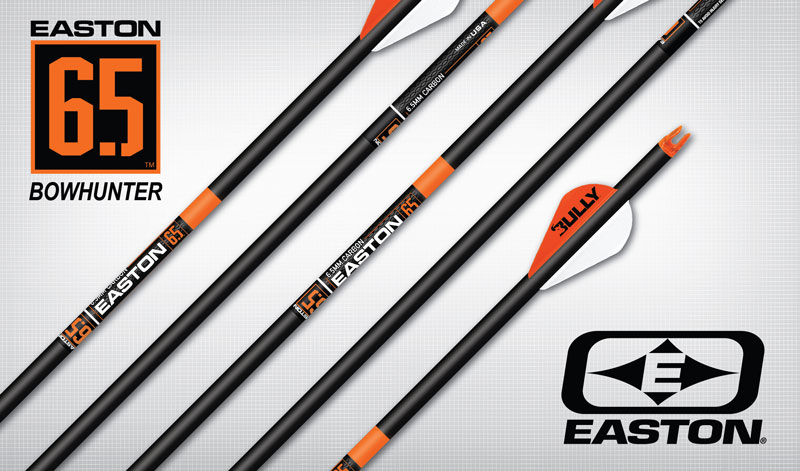 Easton 6.5 Bowhunter Arrows w/Blazer Vanes & Inserts Dz.