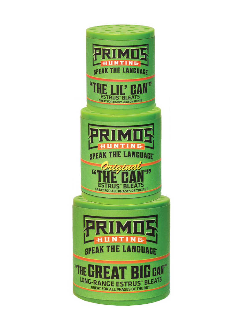 Primos The Can Family Pack Deer Call
