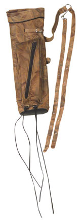 Wyandotte Camo Leather Quiver