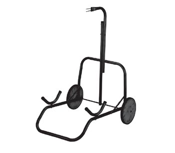 Bear Wheeled Metal Stand