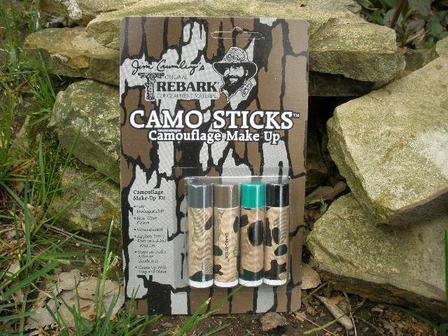 Camp-Cap Camo Stix 4-Color Make-Up Kit