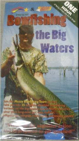 Bowfishing the Big Waters Video VHS