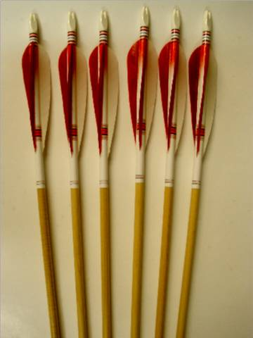 "Traditional Premium Cedar Arrows Dz. 32"" 11/32"