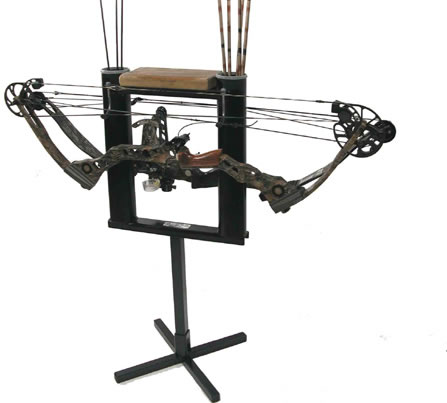 C.W. Erickson Handy Stand Deluxe Bow and Arrow Stand