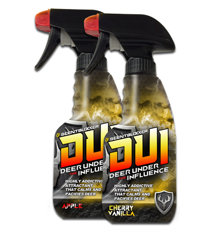 ScentBlocker DUI Deer Under the Influence 8oz. - Apple-