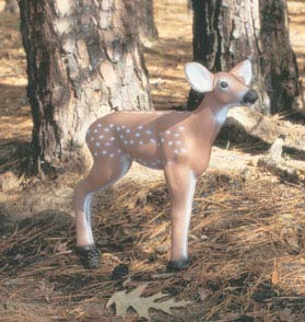 Feather Flex Standing Fawn Decoy