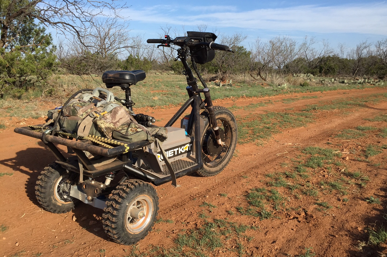 QuietKat HUNTER – 48V-Portable Electric All-Terrain Vehicle