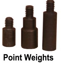 PDP Extra Point Weight Screws 12pk 100grain (2412 & up)SPW100