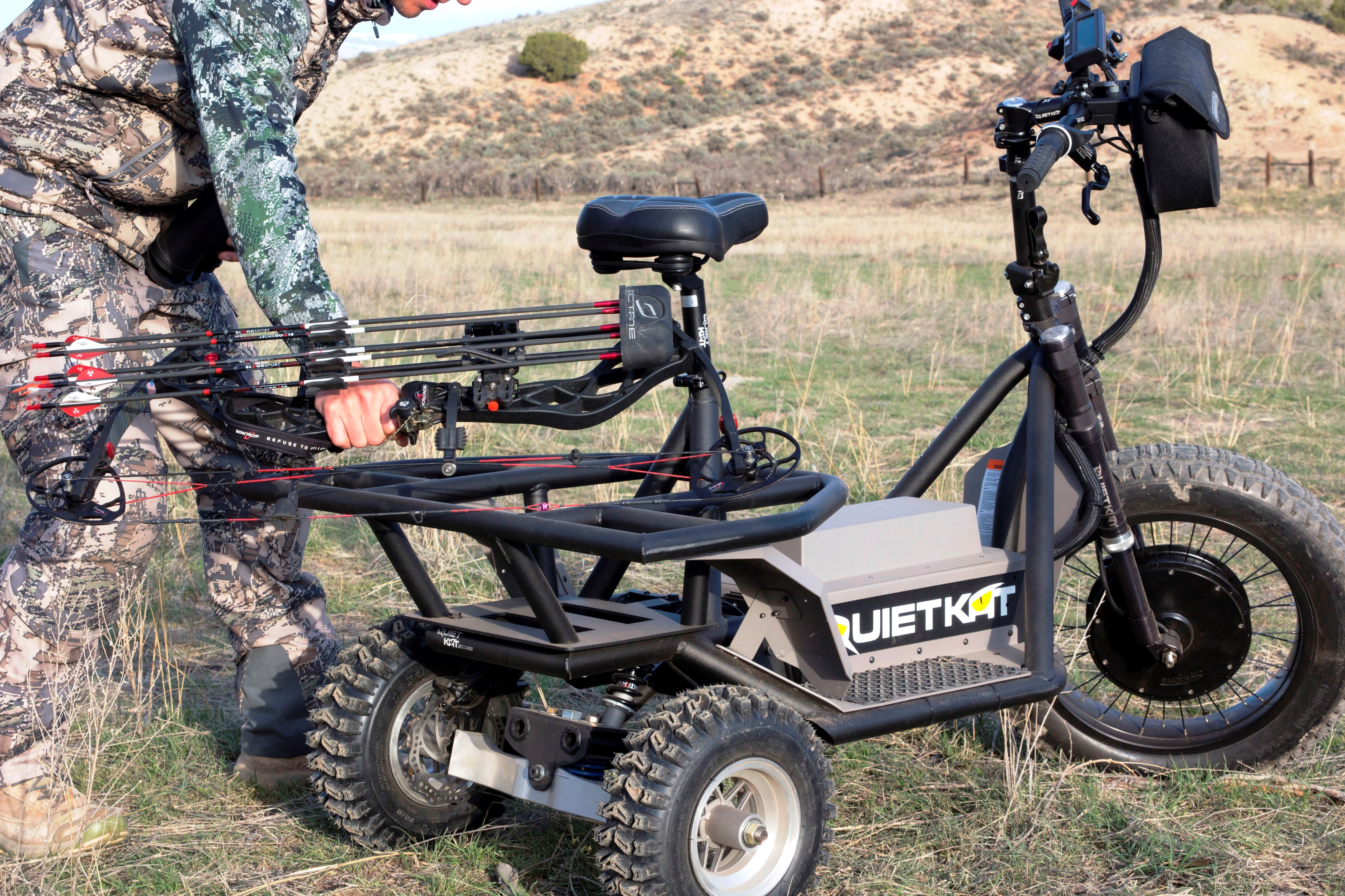 QuietKat Prowler – 60V-Portable Electric All-Terrain Vehicle