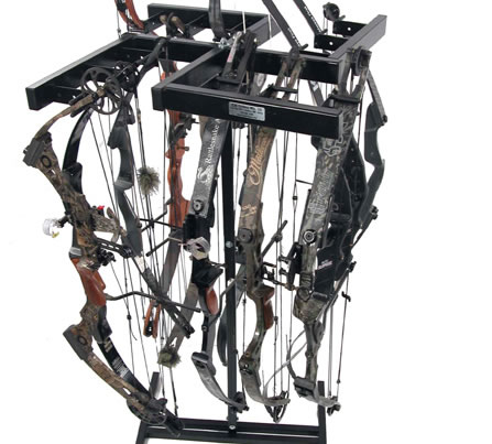 C.W. Erickson Rotating 12 Bow Rack