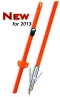 "OMP Raider 32"" Fish Arrow W/Riptide Point orange or pink"