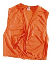 HS Blaze Orange Safety Vest