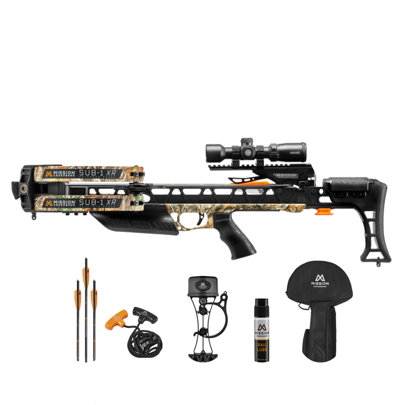 Mission Sub- 1 XR Crossbow w/Pro Kit Realtree Camo