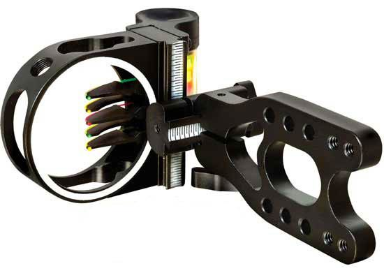 PSE Top Gun Nighthawk 3-pin Sight - Click Image to Close
